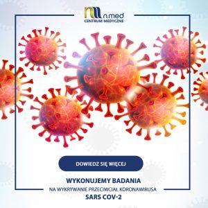 Test na przeciwciała koronawirusa SARS COV-2